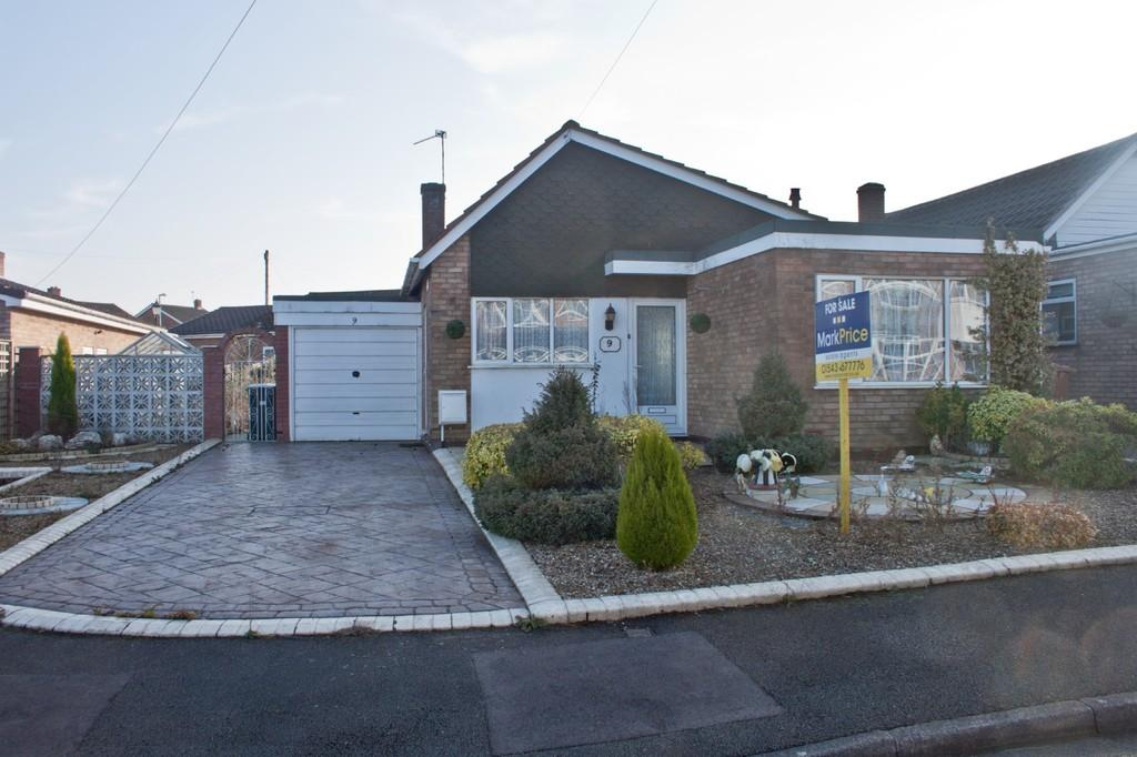 2 Bedrooms Detached Bungalow for sale in Eastwood Avenue, Burntwood