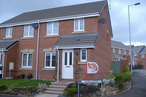 3 bedroom semi-detached house to rent - Rhes Leith, Tondu, Bridgend. CF32 9GB