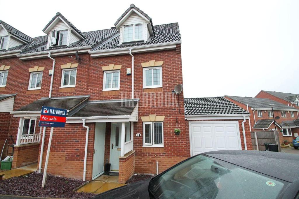 3 Bedrooms End Of Terrace House for sale in Hills Close, Mexborough