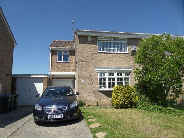3 Bedrooms Semi Detached House for sale in MILFORD WAY, BOWBURN, DURHAM CITY : VILLAGES EAST OF