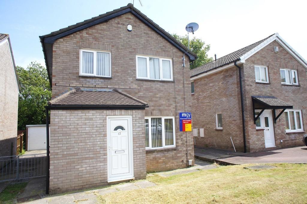 4 Bedrooms Detached House for sale in Jasper Close, Danescourt