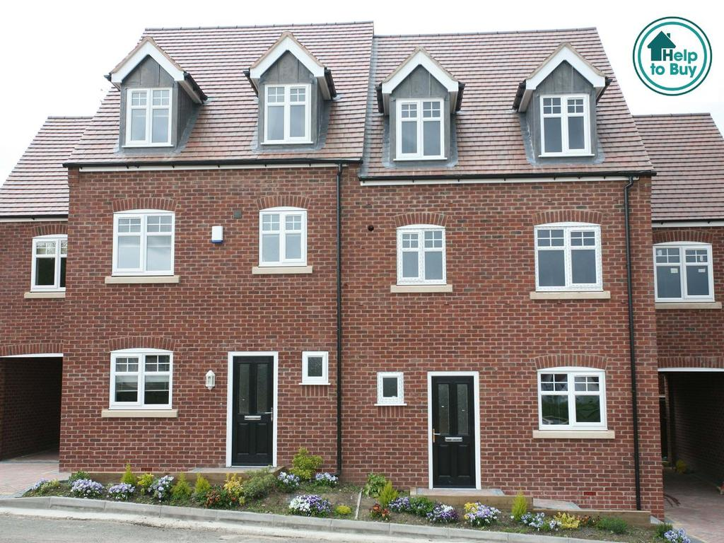 4 Bedrooms Mews House for sale in Plot 10 (The Ripon) , Highfields Gardens, High Mount Street, Hednesford, WS12 4BN