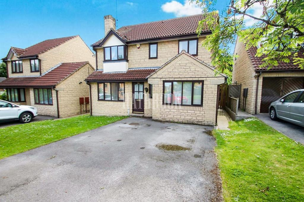 4 Bedrooms Detached House for sale in Brackens Lane, Barlborough