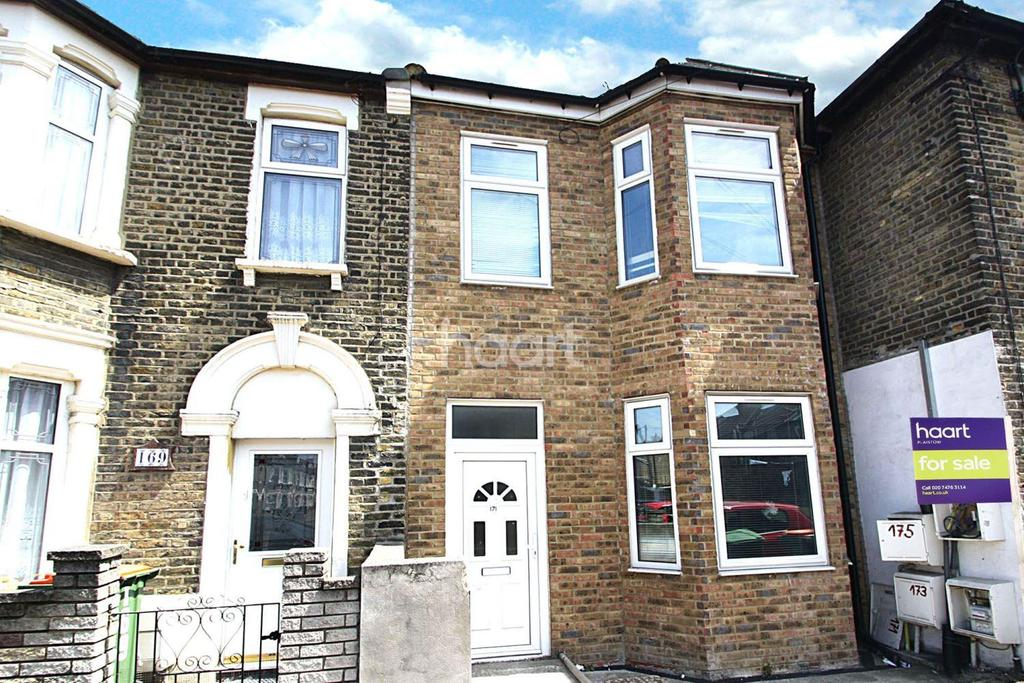 2 Bedrooms End Of Terrace House for sale in Carson Road, Canning Town