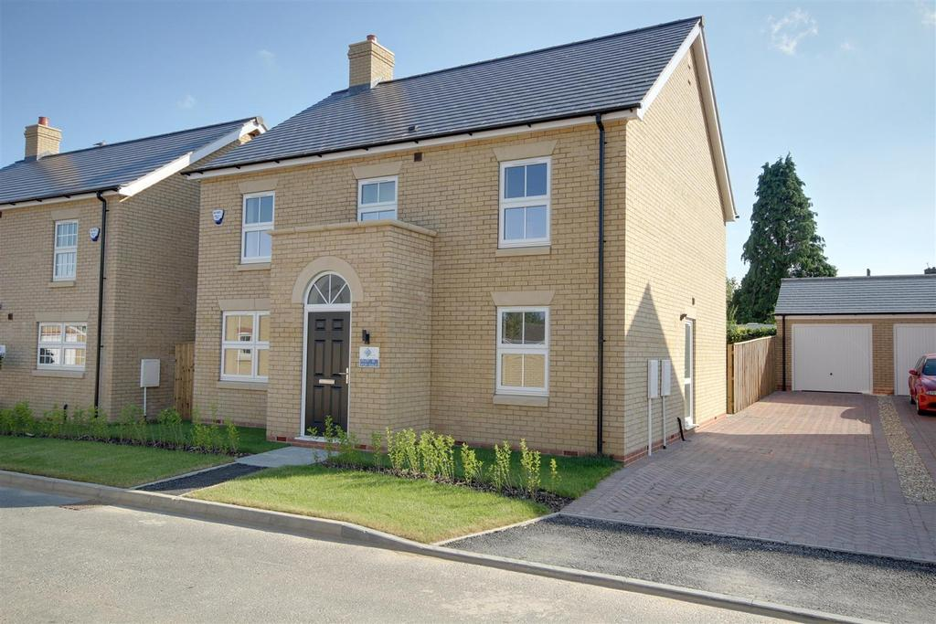 4 Bedrooms Detached House for sale in The Citrine (Plot 8), Wallaces Yard, Alford