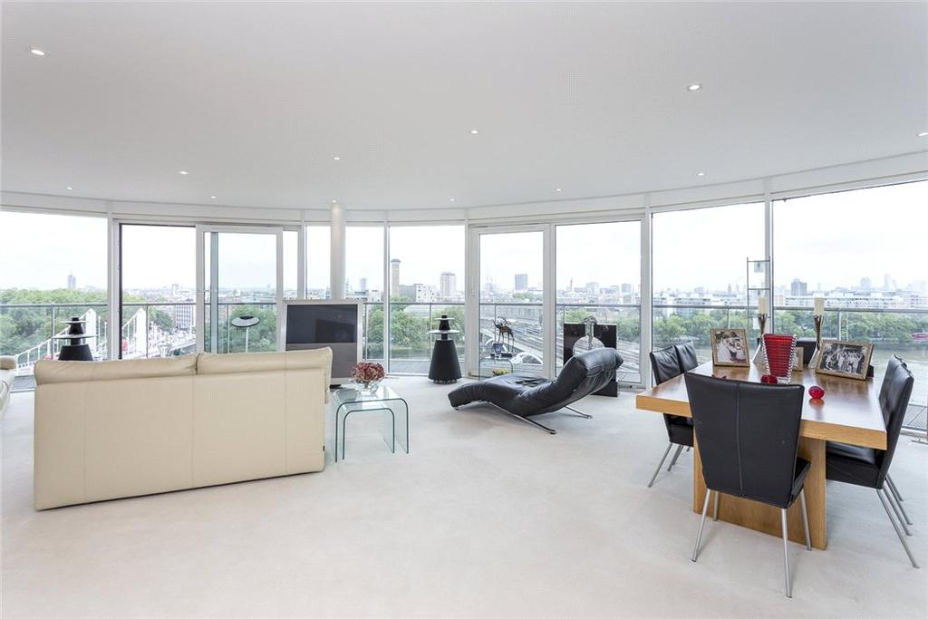 3 Bedrooms Penthouse Flat for sale in Centurion Building, Chelsea Bridge Wharf, 376 Queenstown Road, London, SW8