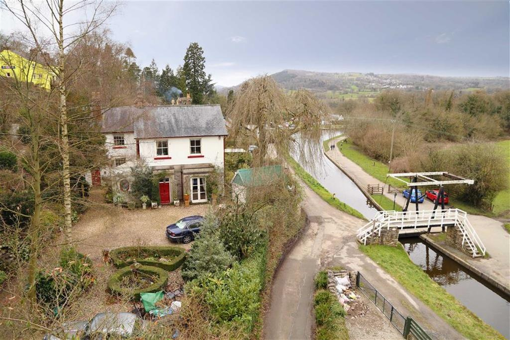 5 Bedrooms Country House Character Property for sale in Canal Side, Froncysyllte, Llangollen, LL20