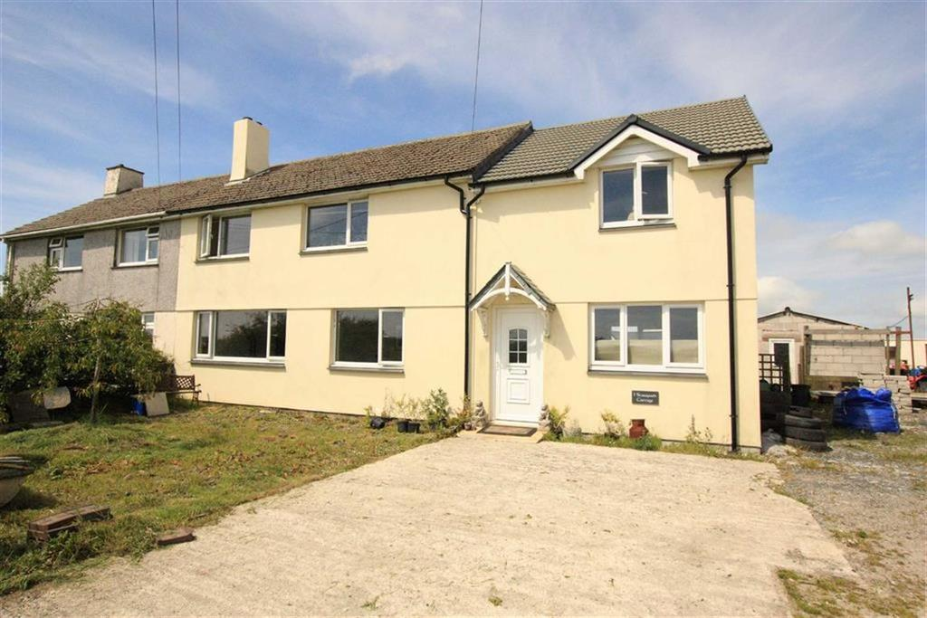 3 Bedrooms Semi Detached House for sale in Starapark, Camelford, Cornwall, PL32