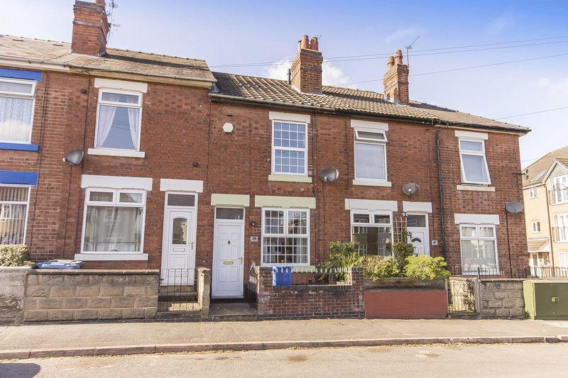 2 Bedrooms Terraced House for sale in CURZON LANE, ALVASTON