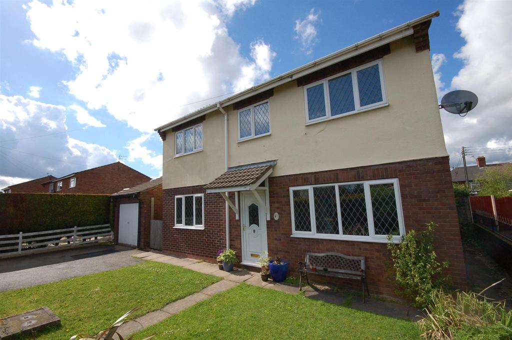 4 Bedrooms Detached House for sale in Tawney Close, Kidsgrove