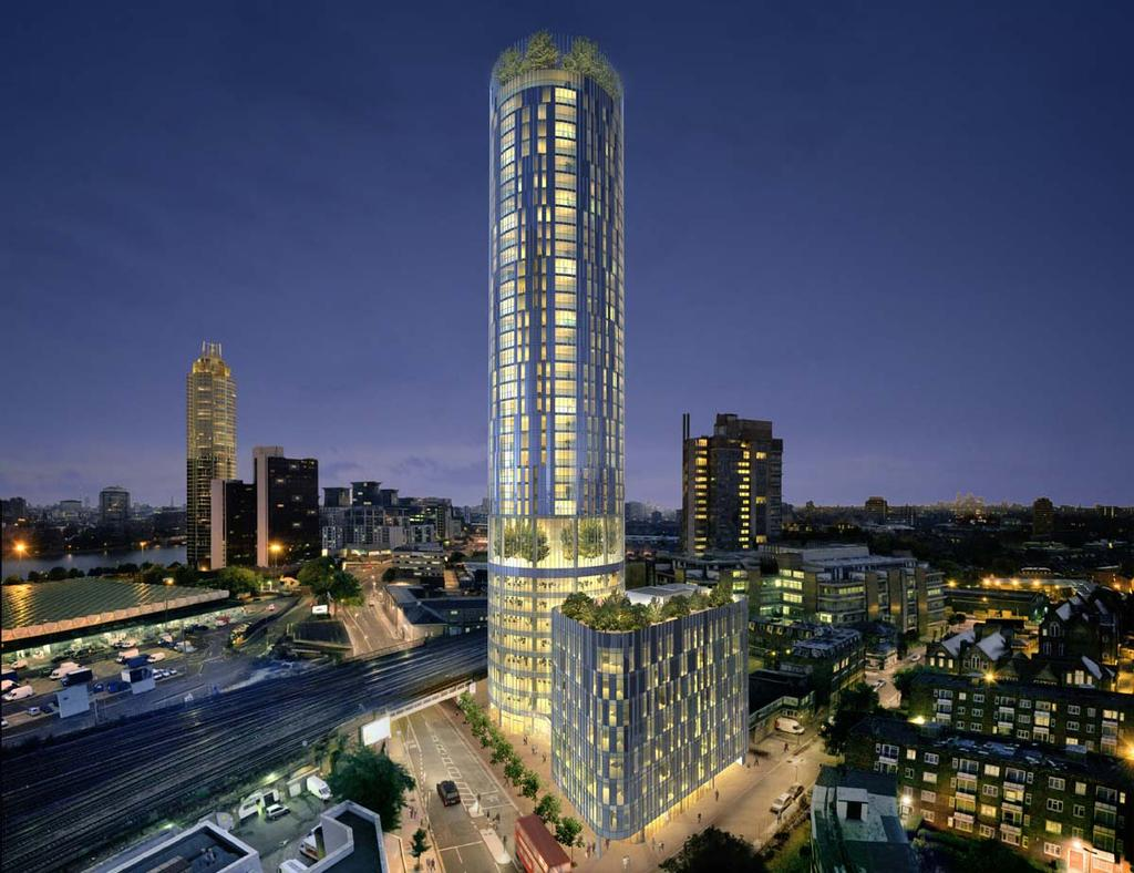 12 Bedrooms Block Of Apartments Flat for sale in Sky Gardens, London SW8
