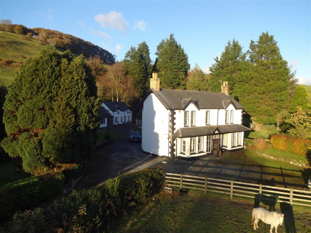 4 Bedrooms Detached House for sale in Brynffynnon, Penegoes, Machynlleth, Powys, SY20