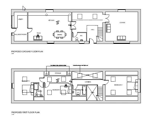 Floorplan: All floors proposed