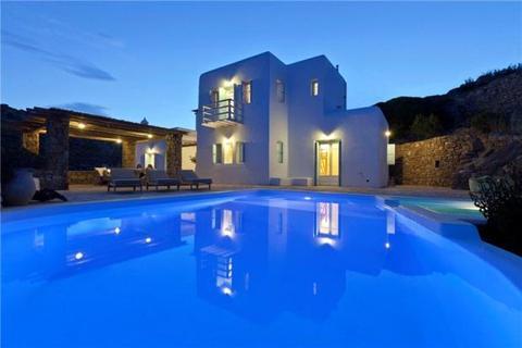 6 bedroom detached house  - Villa Agrari Vista, Agrari, Mykonos Island