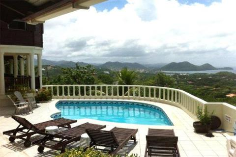 3 bedroom detached house  - Golf Park, Cap Estate, Gros Islet, St Lucia