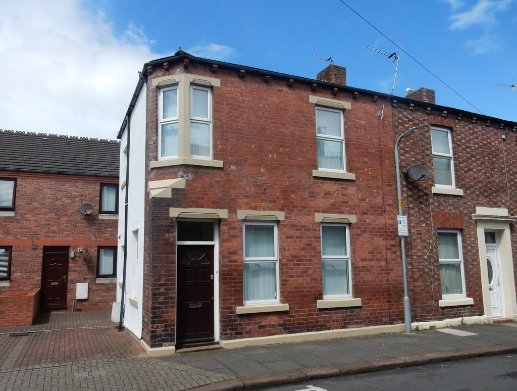 2 Bedrooms End Of Terrace House for sale in South Street, Carlisle