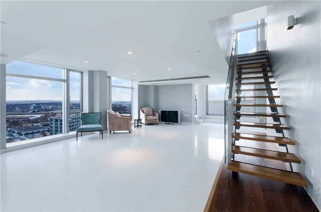 4 Bedrooms Penthouse Flat for sale in Pan Peninsula Square, Isle Of Dogs, London, E14
