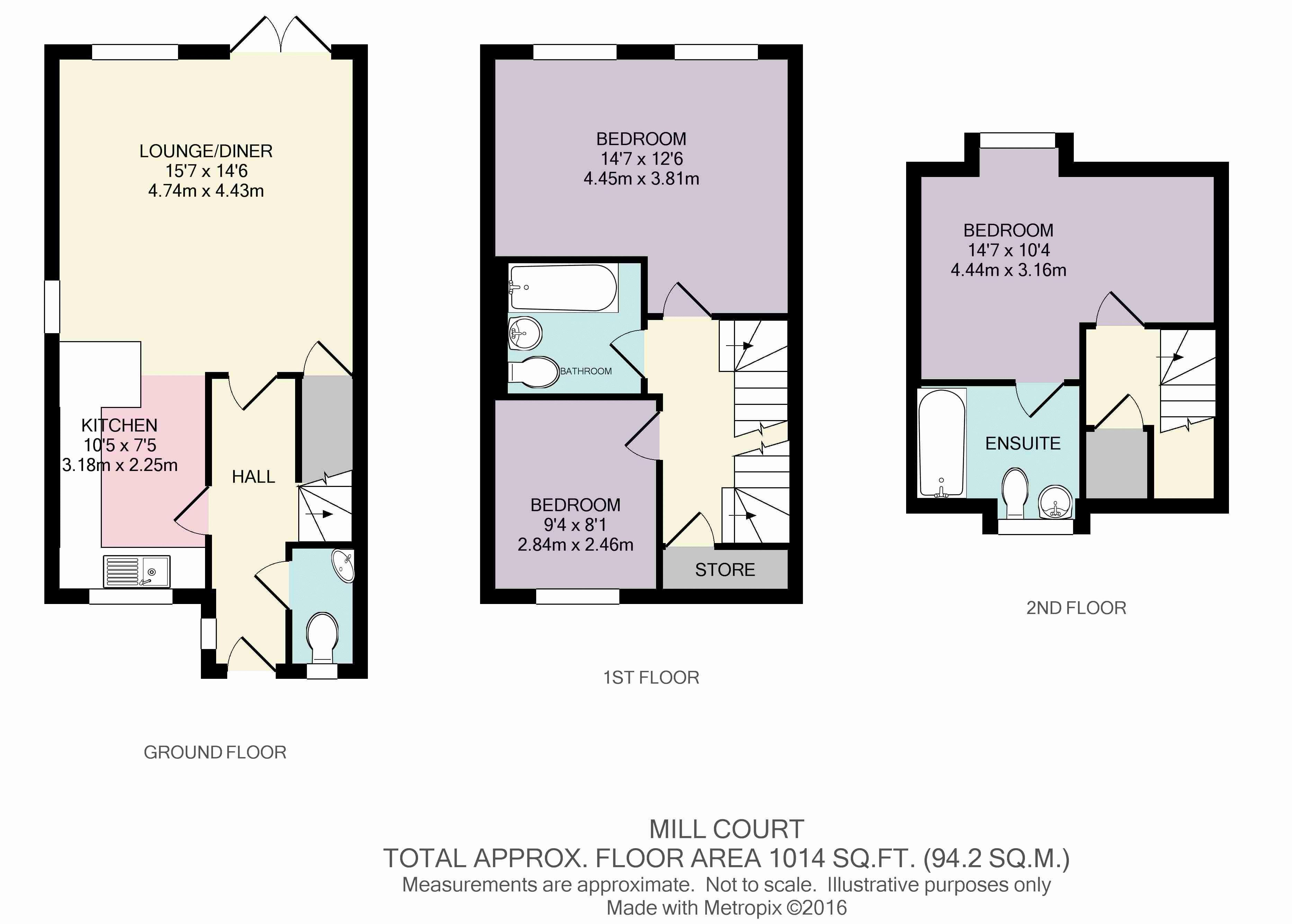 3 Bedroom Terraced House Plan U2013 Home Ideas Decor