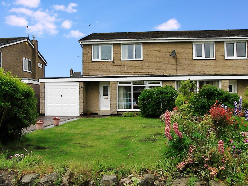 3 Bedrooms Semi Detached House for sale in Cheviot Lodge, Longframlington, Morpeth