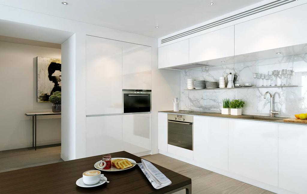 2 Bedrooms Apartment Flat for sale in SkyGardens, London SW8