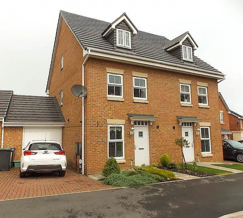 3 Bedrooms Town House for sale in Holly Crescent, Sacriston