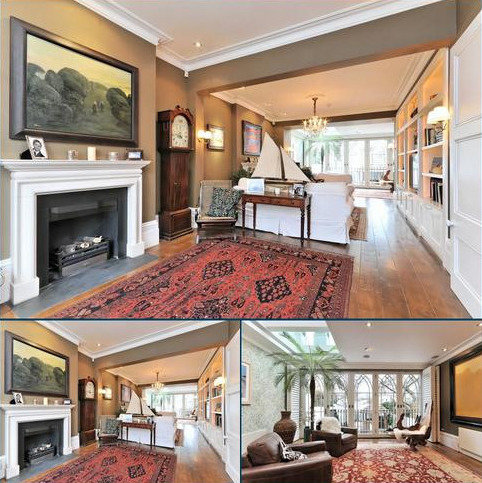 7 bedroom house to rent - Alma Terrace, Kensington, London W8