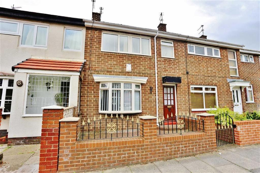 3 Bedrooms Terraced House for sale in Harold Square, Hendon, Sunderland, SR2