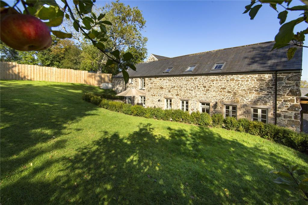 4 Bedrooms Barn Conversion Character Property for sale in Spreyton, Chagford, Devon