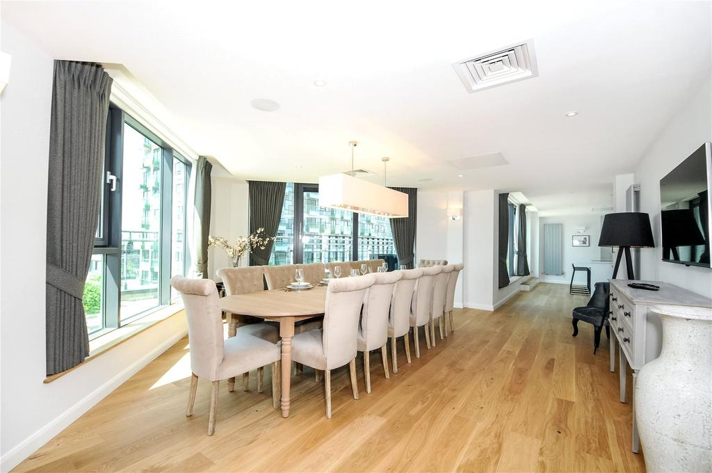 4 Bedrooms Penthouse Flat for rent in 41 Millharbour, Canary Wharf, London, E14