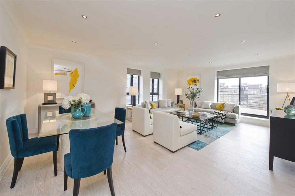 2 Bedrooms Apartment Flat for sale in Huntsmore House, Pembroke Road, Kensington W8