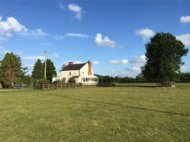 3 Bedrooms Detached House for sale in Lower Kinley Farm, Letton, Hereford, Herefordshire