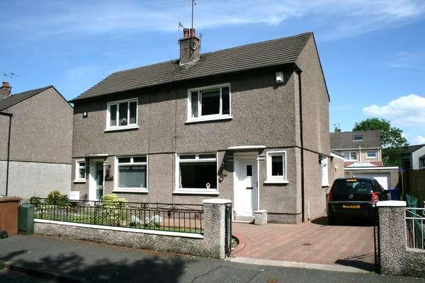 2 Bedrooms Semi-detached Villa House for sale in 79 Bideford Crescent, Mount Vernon, Glasgow, G32 9NH