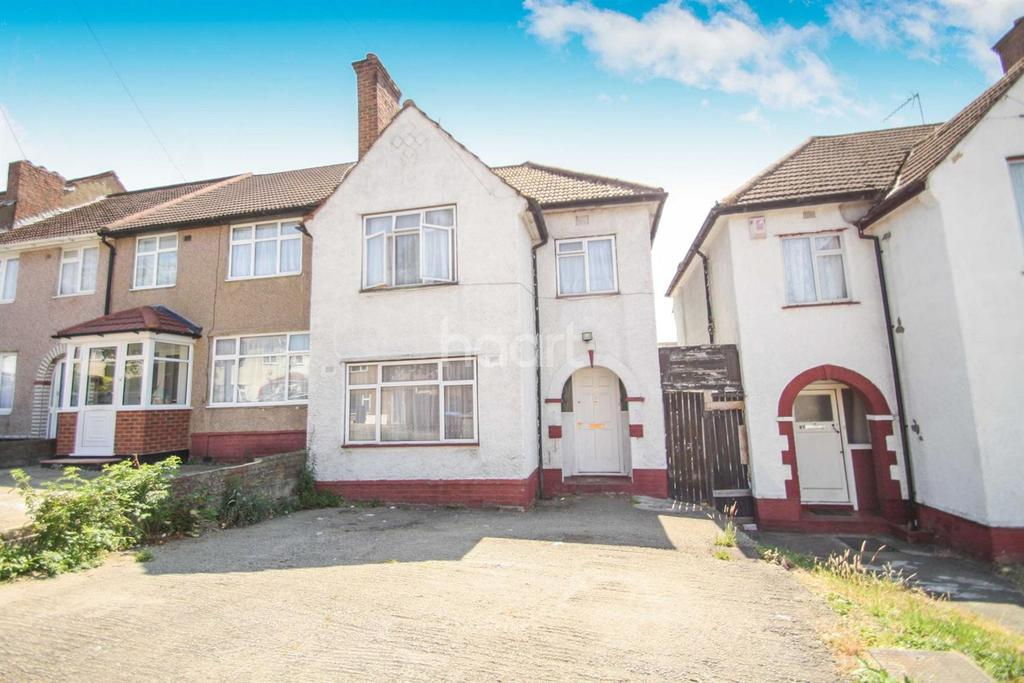 3 Bedrooms End Of Terrace House for sale in Ballards Road, London