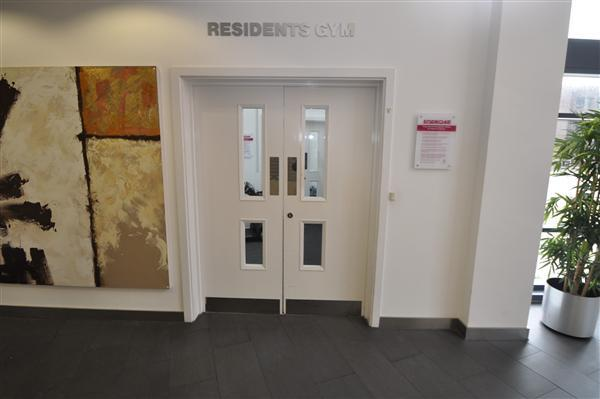 Entrance to residents gym