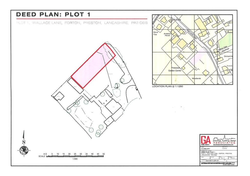 Detached House for sale in Plot Of Land Woodlands, Wallace Lane, Forton, Preston, Lancashire