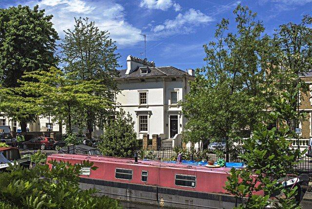 4 Bedrooms Semi Detached House for sale in Blomfield Road, Little Venice, London, W9