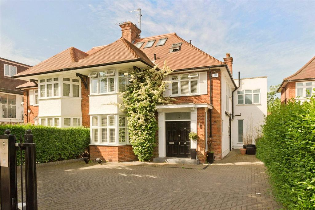 4 Bedrooms Semi Detached House for sale in Harman Drive, The Hocrofts, London