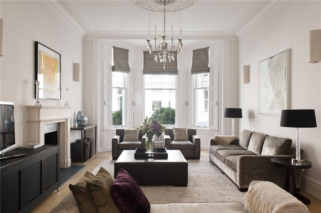 5 Bedrooms Terraced House for sale in Stafford Terrace, Kensington, London, W8
