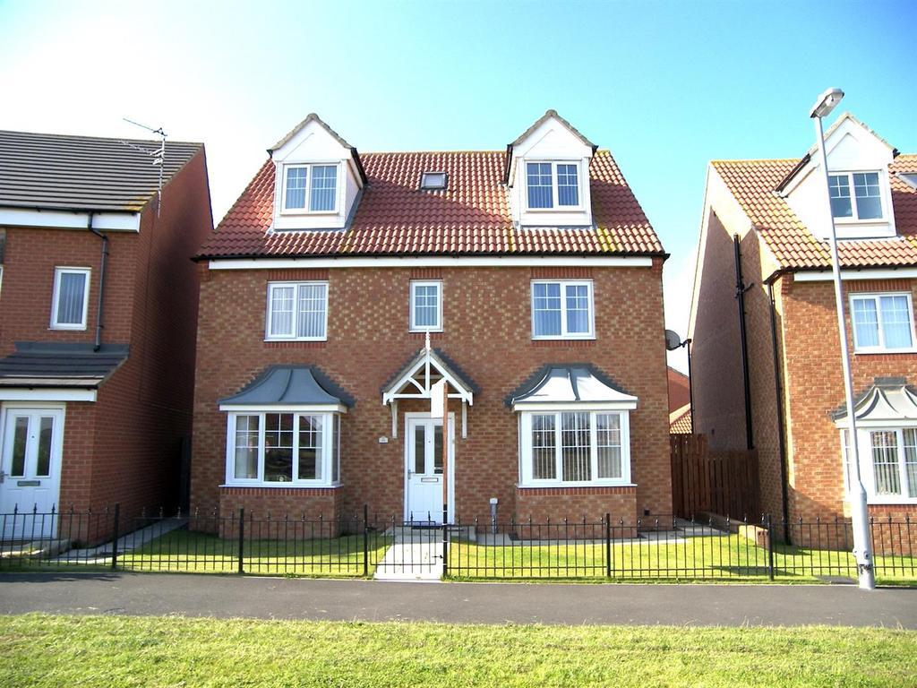 5 Bedrooms Detached House for sale in Harrington Way, Seaton Vale Estate, Ashington