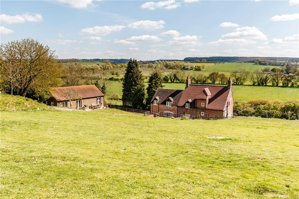 5 Bedrooms Detached House for sale in Bath Road, Fyfield, Marlborough, Wiltshire, SN8