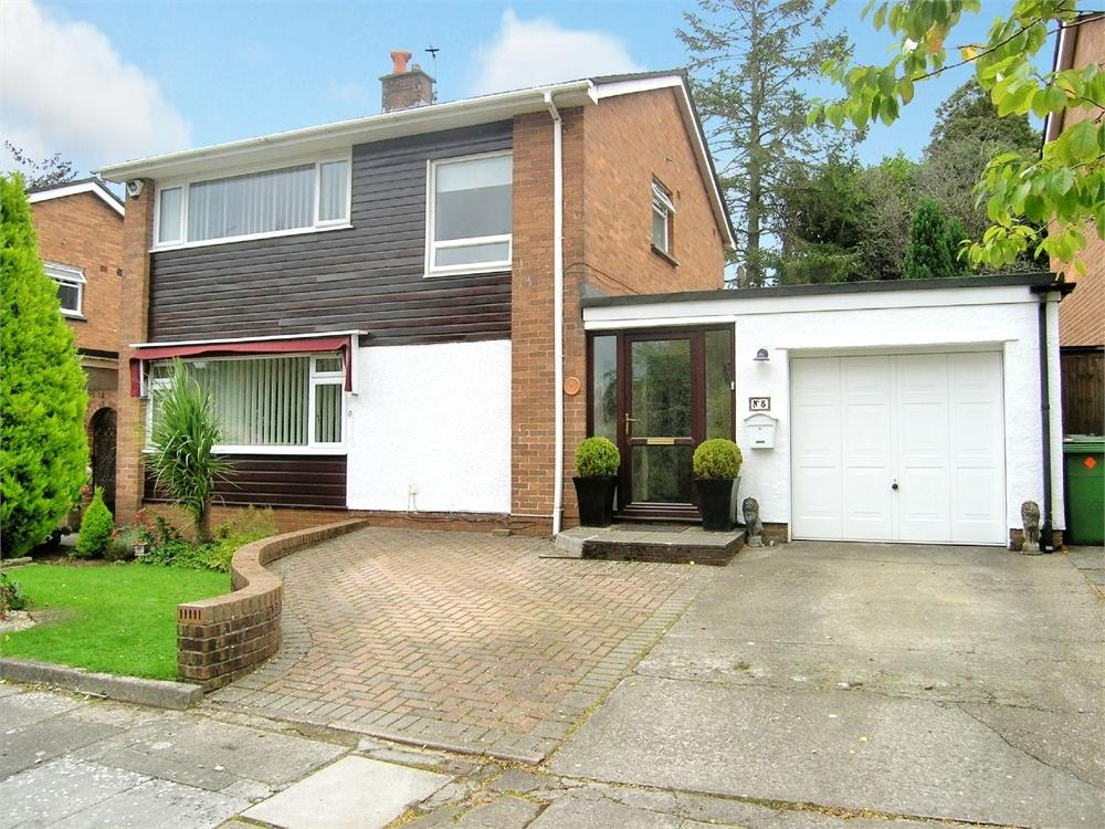 3 Bedrooms Detached House for sale in Justin Close, Cyncoed, Cardiff