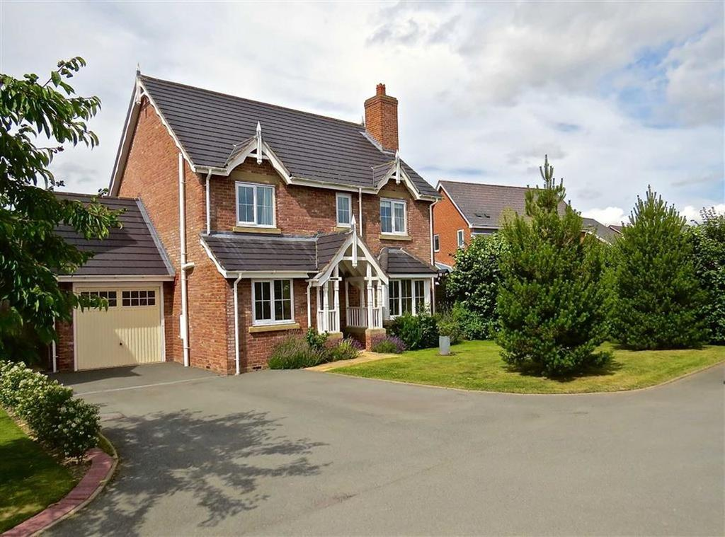 4 Bedrooms Detached House for sale in 11, Parc Llwyfen, Elm Tree Park, Llanymynech, Powys, SY22