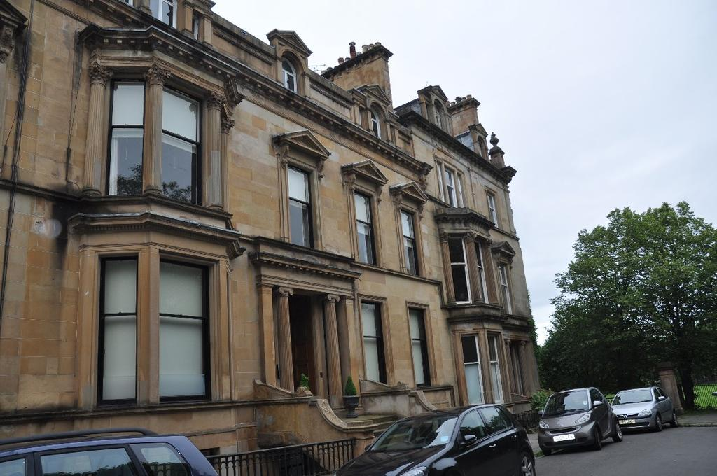 2 Bedrooms Flat for rent in Devonshire Terrace, Flat 1, Dowanhill, Glasgow, G12 0XF