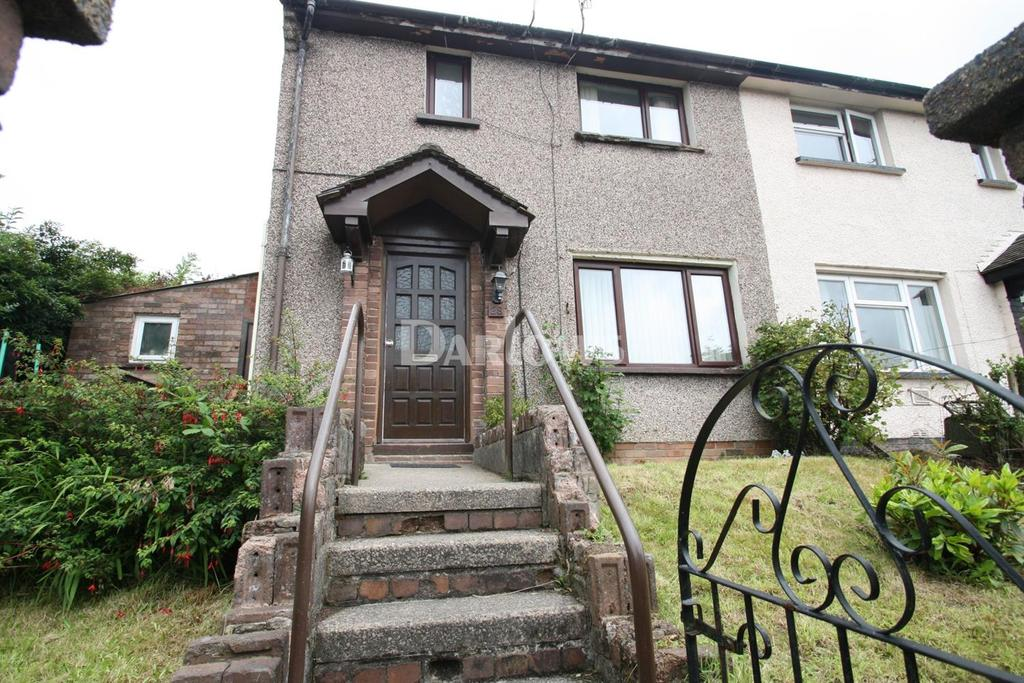 2 Bedrooms Semi Detached House for sale in Mountain View, Llwynypia