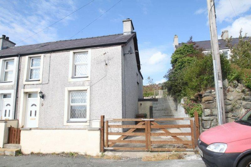 4 Bedrooms Terraced House for sale in Gerlan, Gwynedd