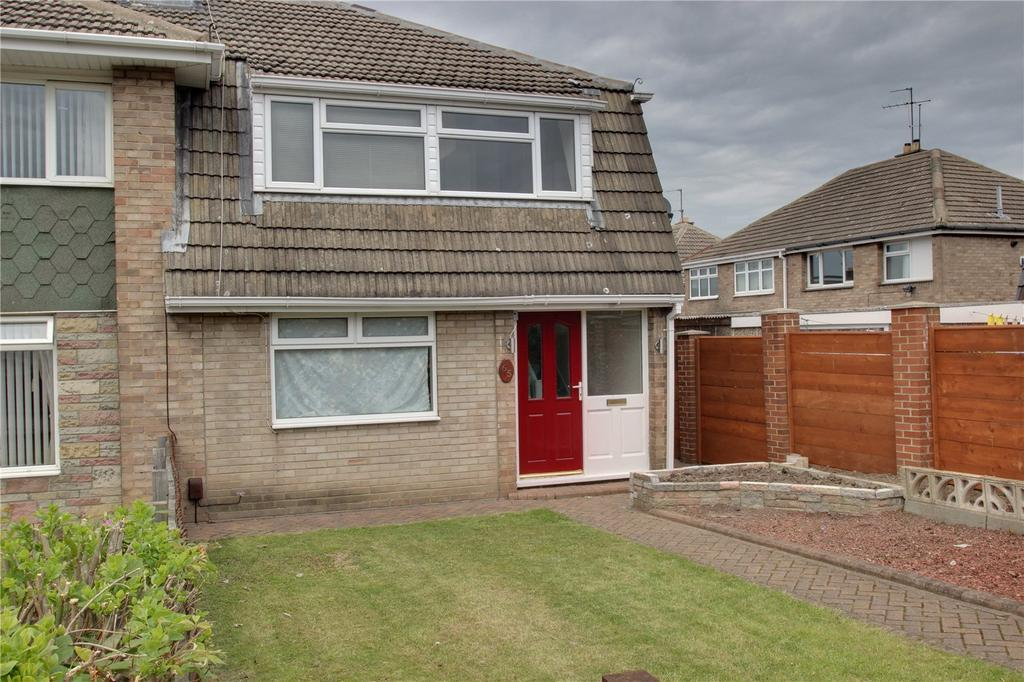 3 Bedrooms Semi Detached House for sale in Durham Road, Eston
