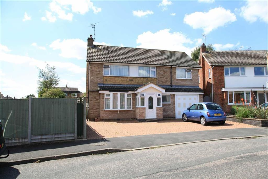 4 Bedrooms Detached House for sale in Fairway, Kibworth