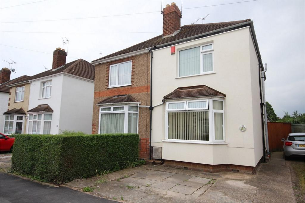 2 Bedrooms Semi Detached House for sale in Brookdale Road, Weddington, Nuneaton, Warwickshire