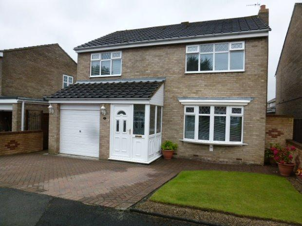 4 Bedrooms Detached House for sale in YARMOUTH CLOSE, FENS, HARTLEPOOL