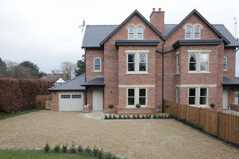 5 Bedrooms Semi Detached House for sale in Ardmore, Woodville Road, Bowdon